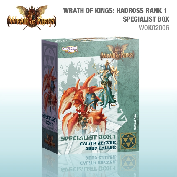 Wrath of Kings House of Hadross: Rank 1 Specialist Box