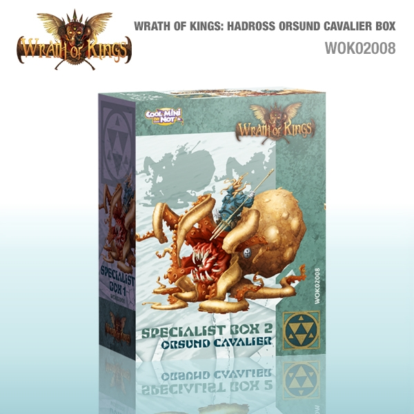 Wrath of Kings House of Hadross: Specialist Box 2 Orsund Cavalier [SALE]