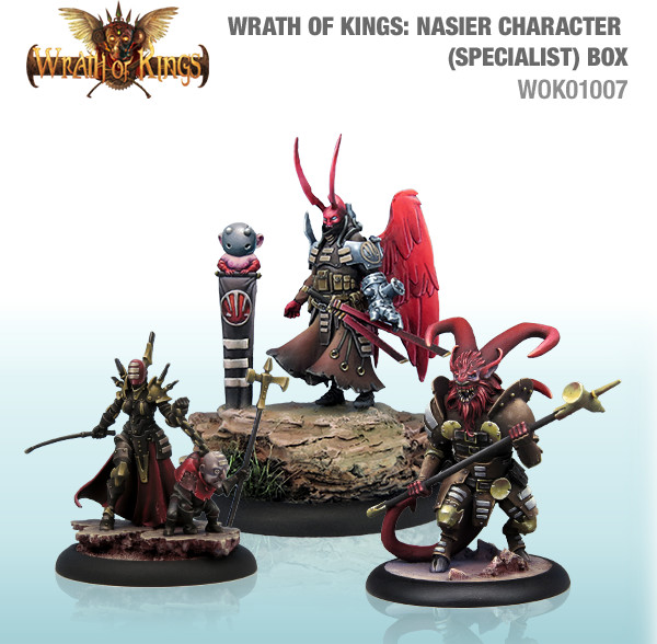 Wrath of Kings House of Nasier: Character (Specialist) Box 2 [SALE]