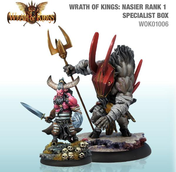 Wrath of Kings House of Nasier: Specialist Box 1 [SALE]