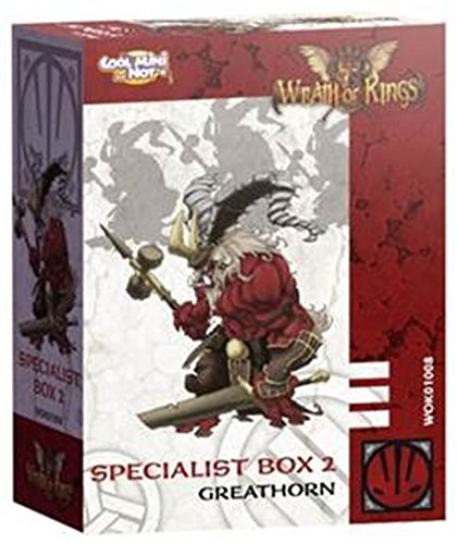 Wrath of Kings House of Nasier: Specialist Box 2 Greathorn [SALE]