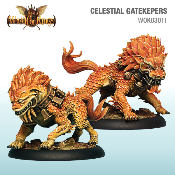 Wrath of Kings House of Shael Han: Celestial Gatekeepers