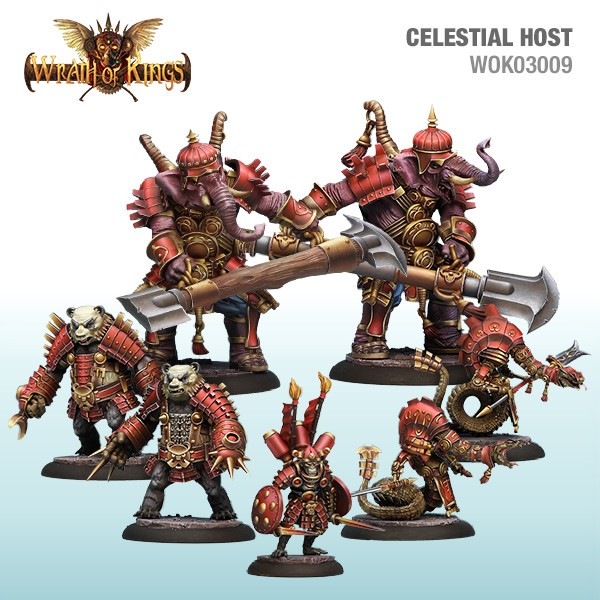 Wrath of Kings House of Shael Han: Celestial Host