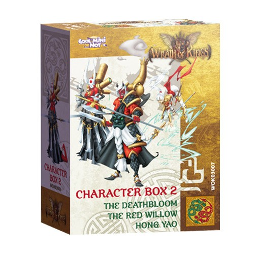 Wrath of Kings House of Shael Han: Character Box 2 [SALE]