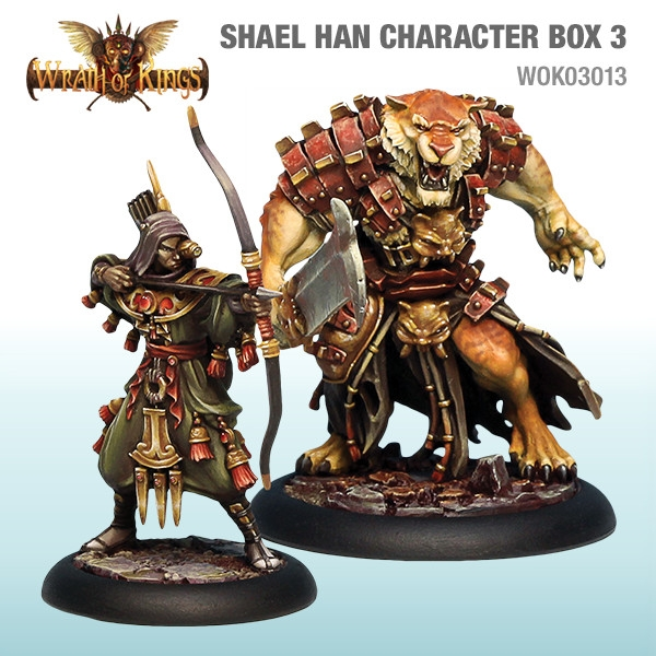 Wrath of Kings House of Shael Han: Character Box 3