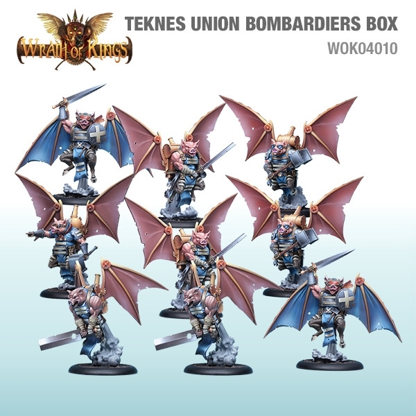 Wrath of Kings House of Teknes: Union Bombardiers [SALE]