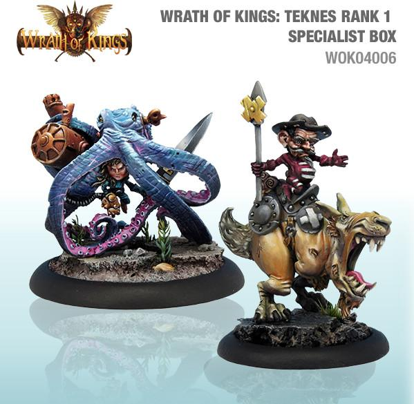 Wrath of Kings House of Teknes: Specialist Box 1 (SALE)