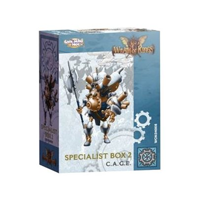 Wrath of Kings House of Teknes: Specialist Box 2 C.A.G.E. [SALE]