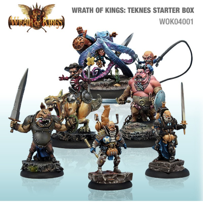 Wrath of Kings House of Teknes: Starter Box