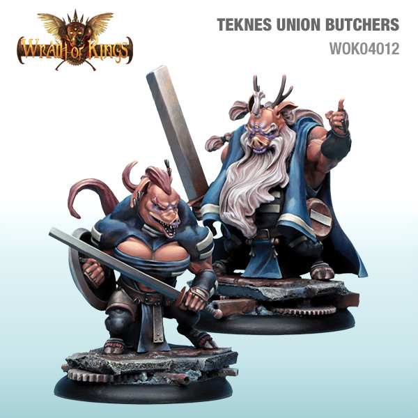 Wrath of Kings House of Teknes: Union Butchers [SALE]