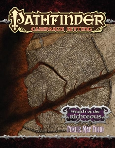 Pathfinder: Campaign Setting: Wrath of the Righteous Poster Map Folio