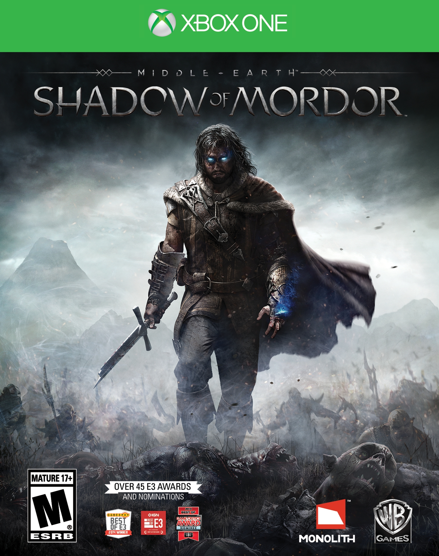 XBOX ONE: Middle Earth Shadow Of Mordor