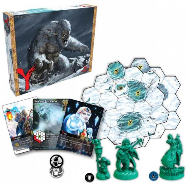 Yashima: Legend of the Icy Peaks [SALE]
