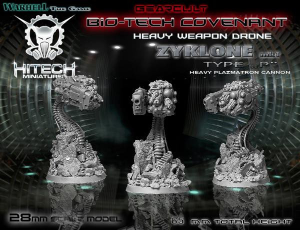 Warhell: Gearcult Bio-Tech Covenant- ZYKLONE Drone P