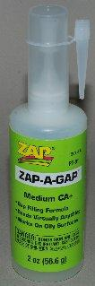 Zap: Zap-A-Gap Medium CA+ (4oz)
