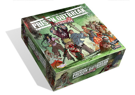 Zombicide: Season 2: Prison Outbreak [Damaged]