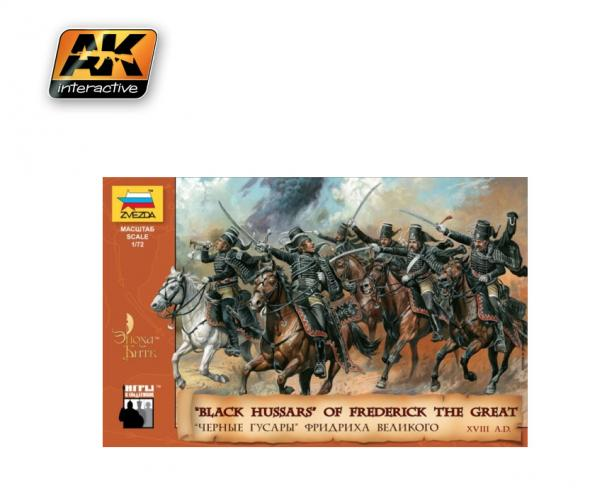Zvezda Historical 1/72 Scale: Black Hussars of Frederick II