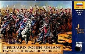 Zvezda Historical 1/72 Scale: Lifeguard Polish Ulans