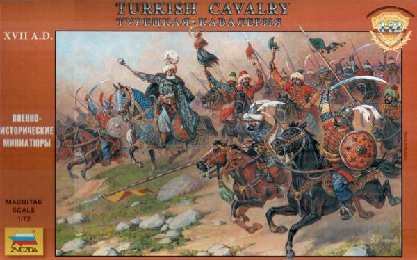 Zvezda Historical 1/72 Scale: Turkish Cavalry