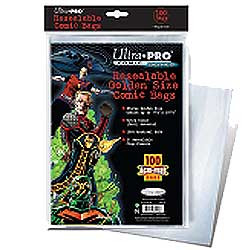 Ultra Pro: Resealable Golden Size Comic Bags