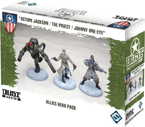Dust Tactics/ Warfare: Allied: Hero Pack