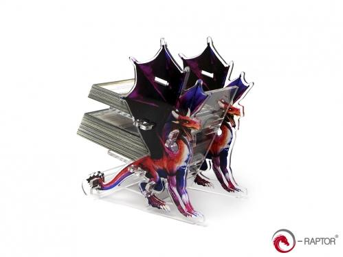 e-Raptor Games: Card Holder- 2L Dragon