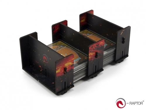 e-Raptor Games: Card Holder- 2L FullPrint Lava