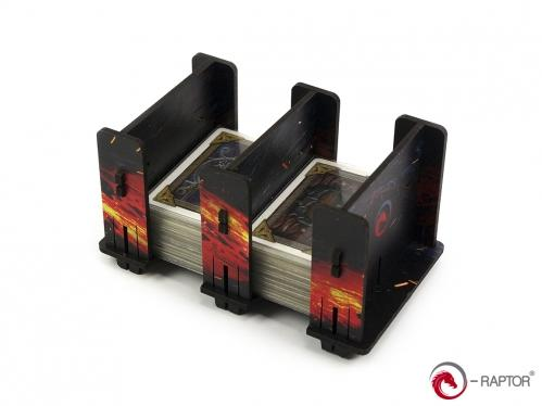 e-Raptor Games: Card Holder- 2S FullPrint Lava