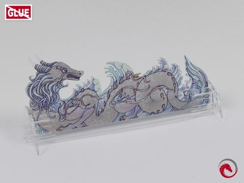 e-Raptor Games: Card Holder- S Dragon Transparent