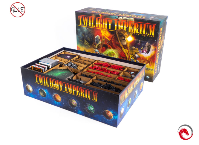 e-Raptor Games: Insert - Twilight Imperium 4th Edition