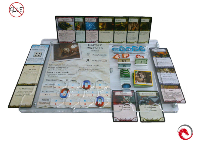 e-Raptor Games: Organizer - Arkham Horror (3rd Edition)
