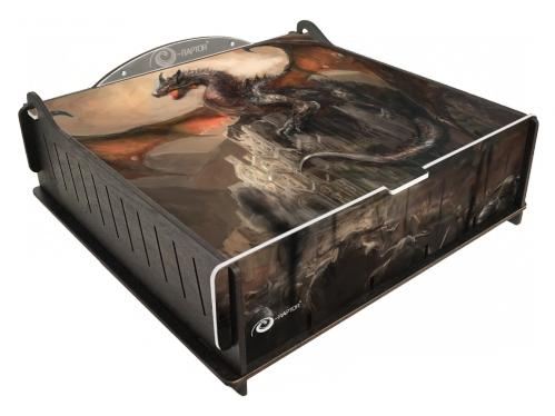 e-Raptor Games: Trading Card Deluxe Storage Box - Dragon Castle