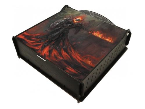e-Raptor Games: Trading Card Ultimate Storage Box - Fire Revenant