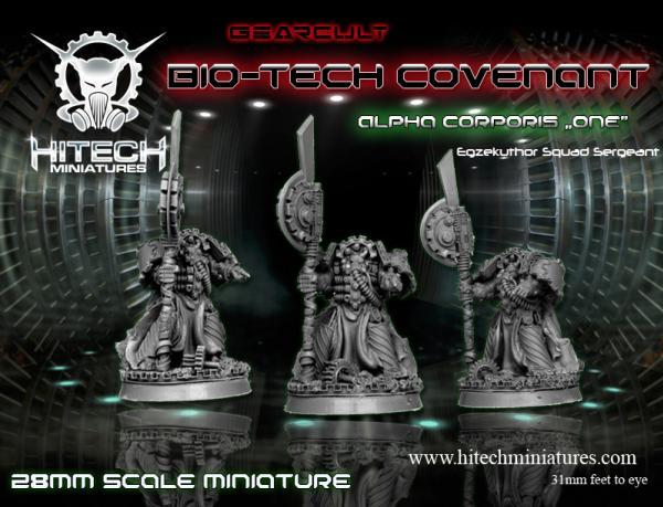 Warhell: Gearcult Bio-Tech Covenant- Alpha Corporis # 1