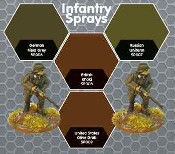 Plastic Soldier Company: Warspray: German Field Grey