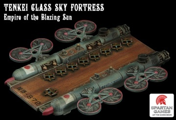Dystopian Wars: Empire Of The Blazing Sun: Sky Fortress