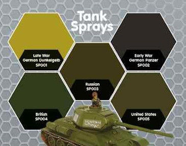 Plastic Soldier Company: Warspray: Early War German Panzer Grey