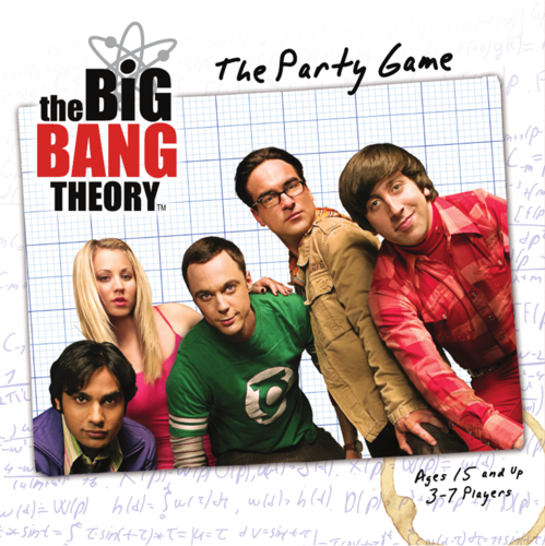 The Big Bang Theory: The Party Game (Damaged)