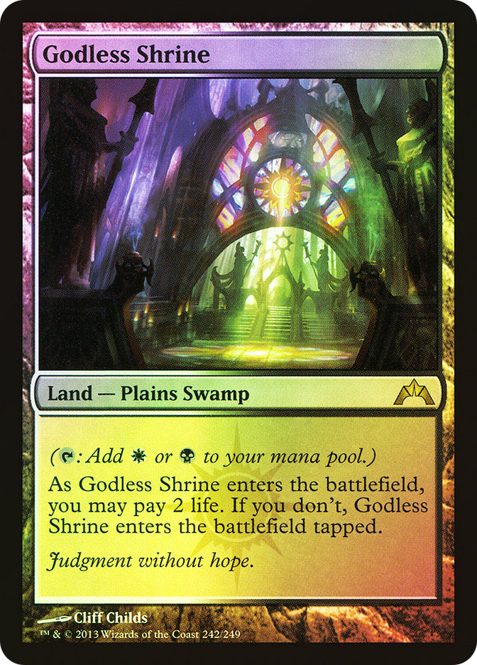 Magic: Gatecrash 242: Godless Shrine [FOIL]
