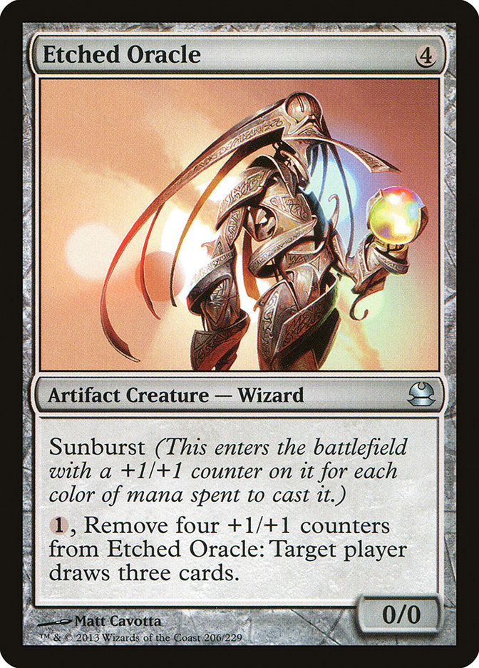 Magic: Modern Masters: Etched Oracle