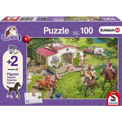 Schmidt Spiele Puzzle: Horse Ride into the Countryside (100)