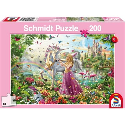 Schmidt Spiele Puzzle: Fairy in Magic Forest (200)
