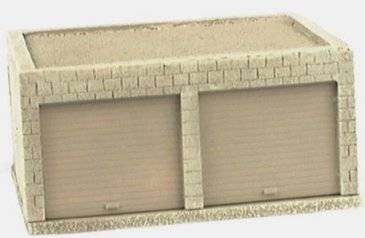 Miniature Building Authority: 28mm Middle Eastern: Garage Block - MBA101709 [022931107092]