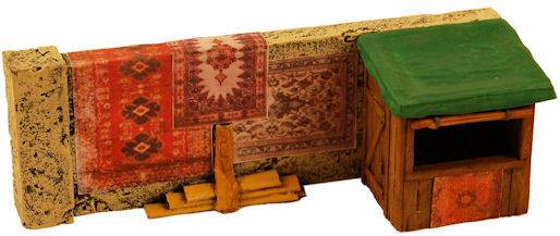 Miniature Building Authority: 28mm Middle Eastern: Rug merchant