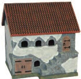 Miniature Building Authority: 28mm Eurovillage: Spanish Tiled Stable
