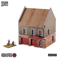 Plast Craft Games: EWAR 15-20mm COLORED: Grocery Store