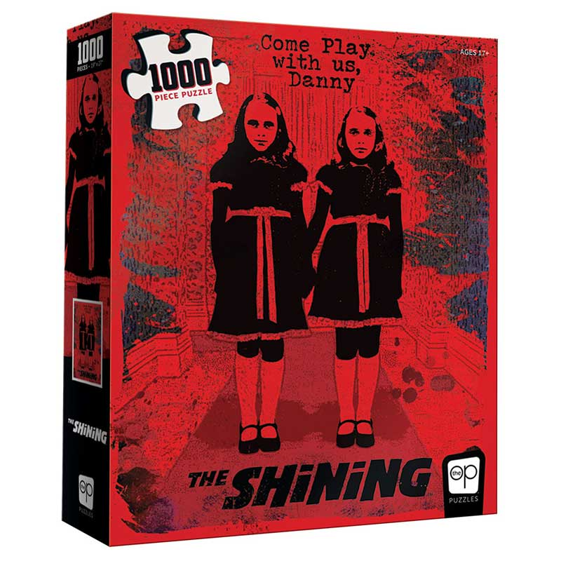 "1000 PC Puzzle: The Shining - ""Come Play With Us"" [DAMAGED]"