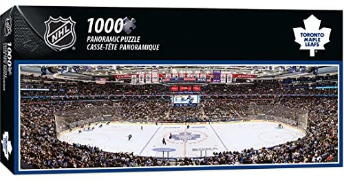 1000 Piece Panoramic Puzzle: Maple Leafs