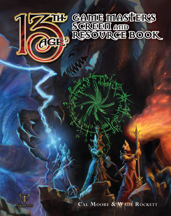 13th Age: GMs Screen & Resource Book