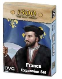 1500 The New World: France Expansion Set